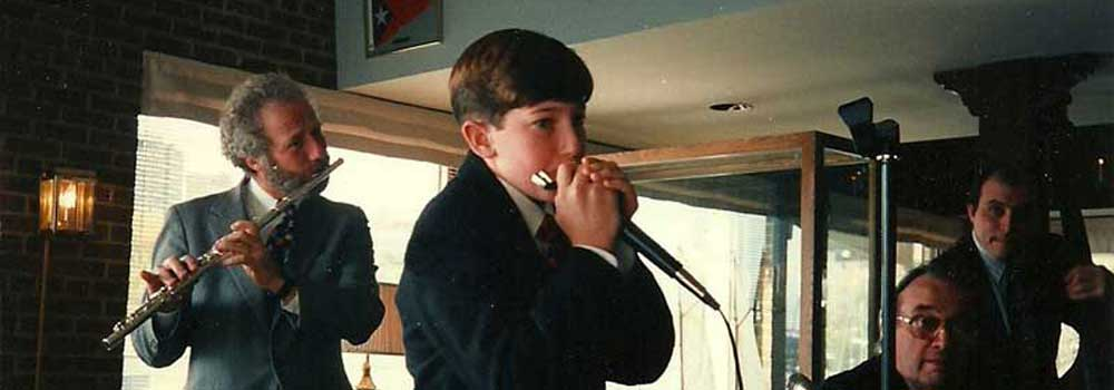 front-page-Joey-Weisenberg-(age-12)-on-Harmonica-with-band